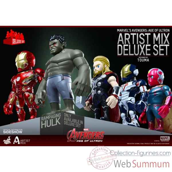 Set figurine collector avengers age of ultron -SSHOT902413