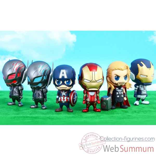 Set figurine cosbaby avengers aou -SSHOT902370