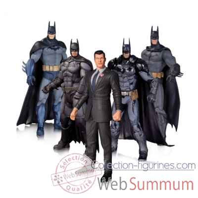 Set figurine dc comics: arkham batman -DIAMAR150321