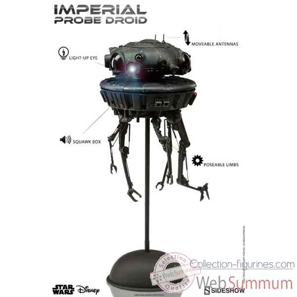 Star wars: droide imperiale figurine echelle 1/6 -SS21642
