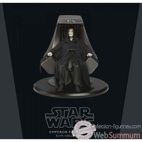 Star wars: empereur palpatine sur le throne imperial 18 cm statue -ATTSW023