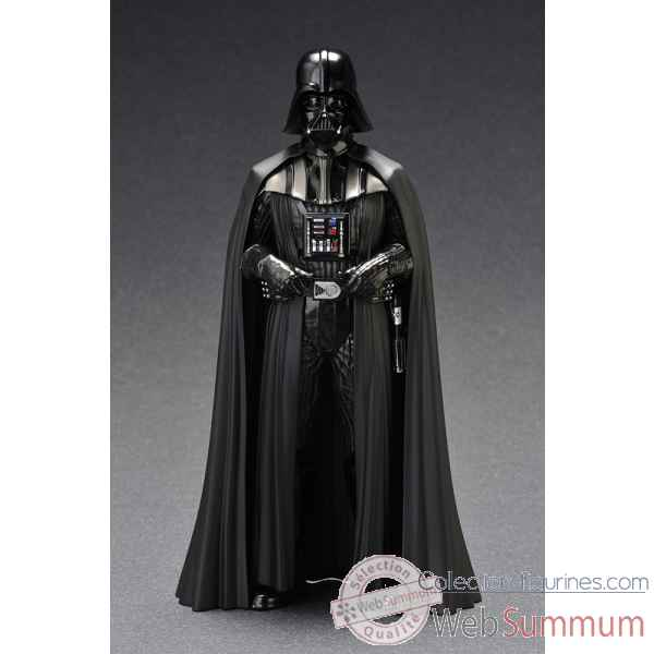 Star wars, episode v : l\'empire contre-attaque - figurine dark vador art fx + -KTOSW58
