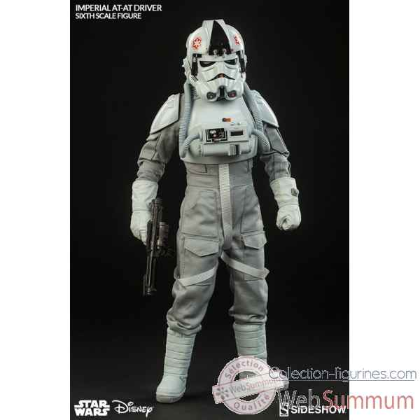 Star wars: figurine echelle 1/6 pilote imperiale at-at -SS100124