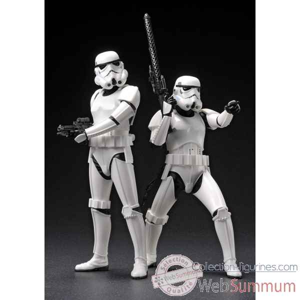 Star wars: figurine stormtrooper art fx+ -KTOSW62