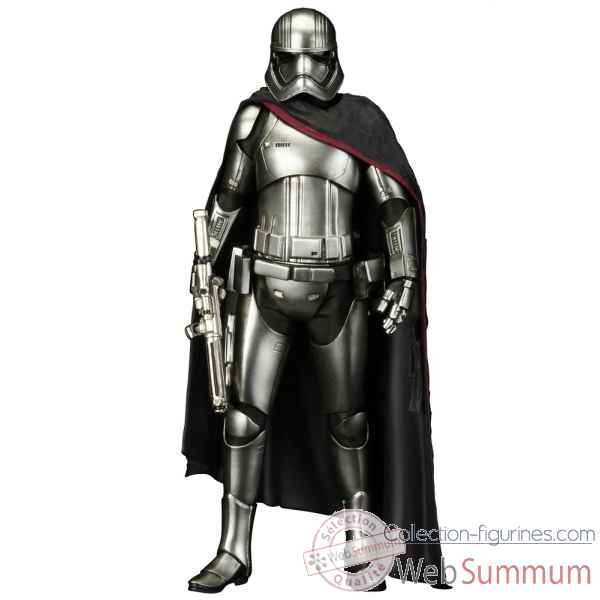 Star wars le reveil de la force: statue capitaine phasma echelle 1/10 -KTOSW108