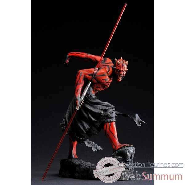 Star wars statue dark maul light-up art fx -KTOSW60