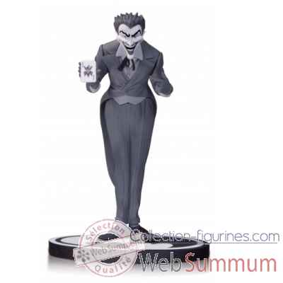 Statue dc comics: joker noir & blanc by dick sprang -DIAJUL140297