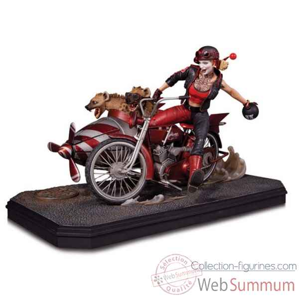 Statue gotham city: garage harley quinn deluxe -DIAAUG150301