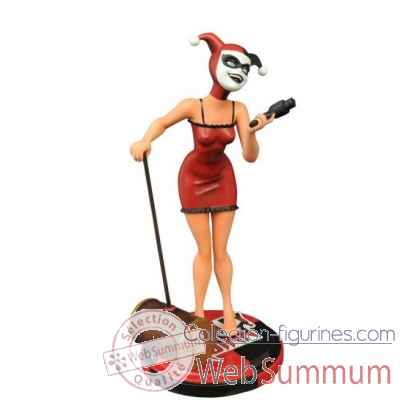 Statue harley quinn batman premium collection: mad love -DIAAUG152310