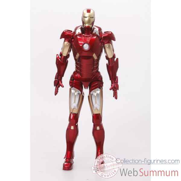 Statue iron-man mark vii marvel: iron man 3 echelle 1/9 -DRAG38126