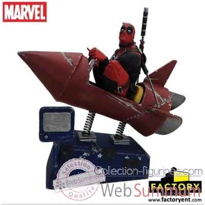 Statue marvel: deadpool - rocket ride -FE408719