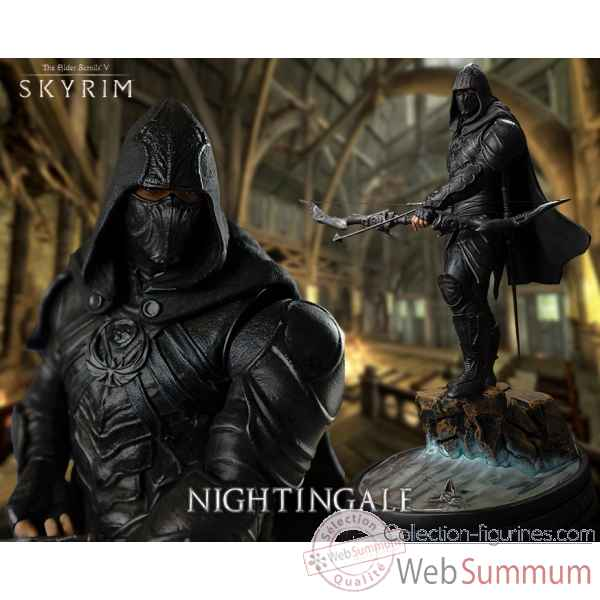 Statue skyrim - nightingale the elder scrolls v -IPESNGR