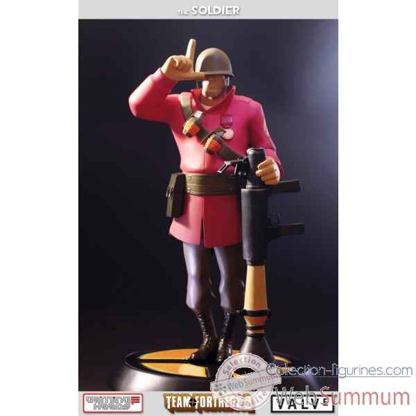 Statue soldat rouge team fortress 2 -IPTF2RSEX