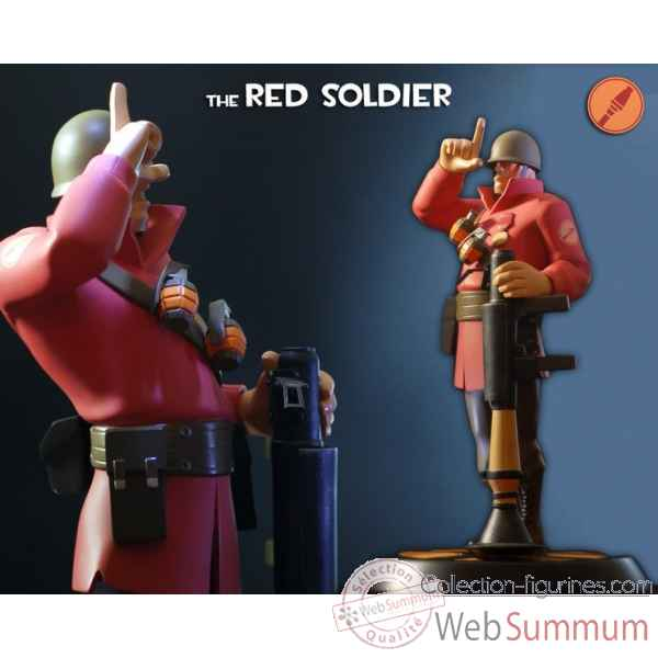 Statue team fortress 2 - soldat rouge -IPTF2RS