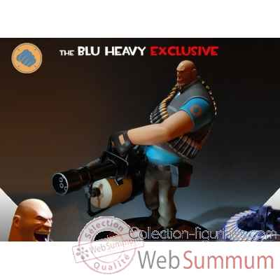 Statue the blu heavy 12 team fortress 2 -IPTF2BHEX