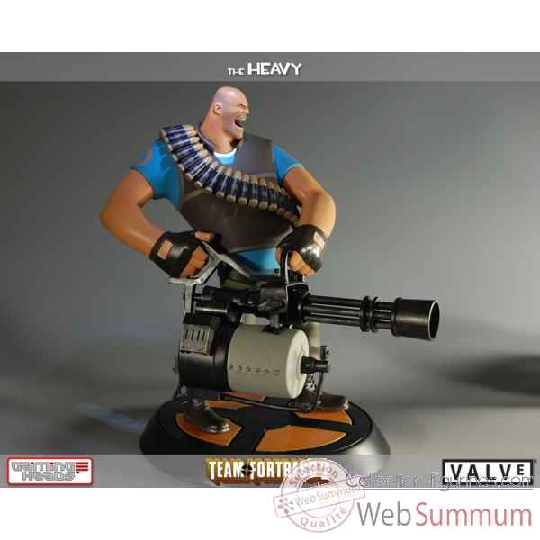 Statue the blu heavy team fortress 2 -IPTF2BH