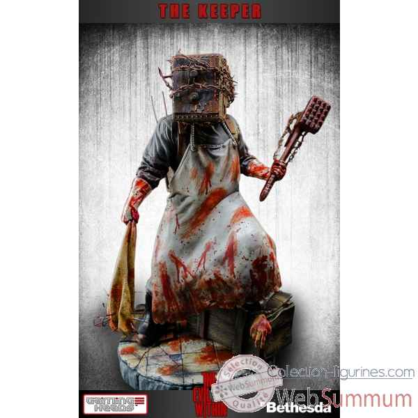 Statue the keeper the evil within -IPEWKRR