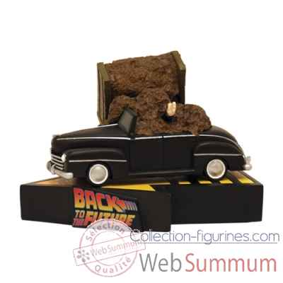 statue voiture retour vers le futur dans film cinema et serie de figurine collector. Black Bedroom Furniture Sets. Home Design Ideas