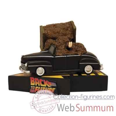 statue voiture retour vers le futur dans film cinema et. Black Bedroom Furniture Sets. Home Design Ideas