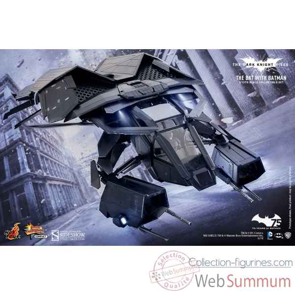 The dark knight rises: figurine the bat -SSHOT902213