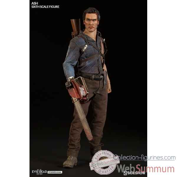 The evil dead: ash williams figurine echelle 1/6 -SS100349