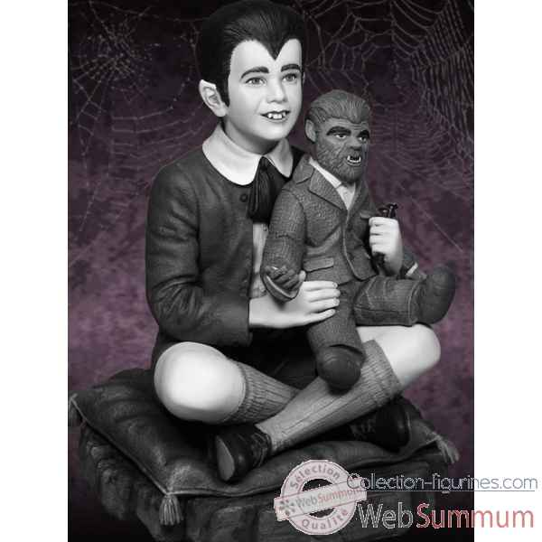 The munsters: statuette eddie munster -TWH0103