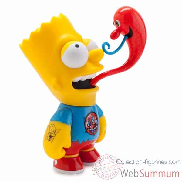 The simpsons: figurine bart by kenny scharf -KIDTKLCL006