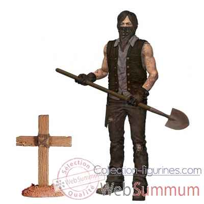 The walking dead: figurine daryl dixon -MCF14631