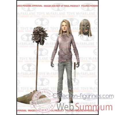 The walking dead: figurine lydia -MCF14644