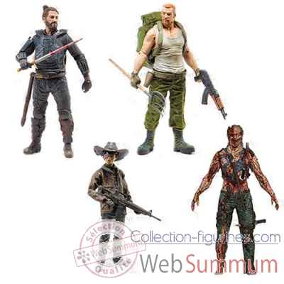 The walking dead: figurine -MCF14580