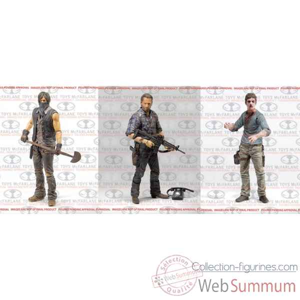 The walking dead: figurine -MCF14590