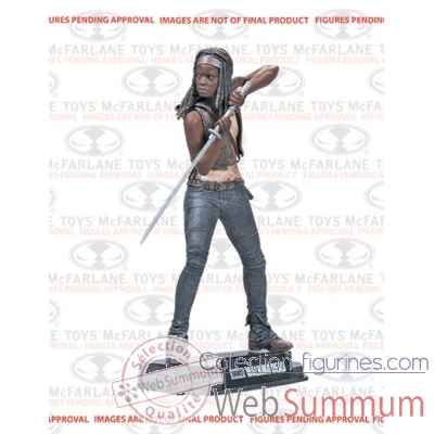 The walking dead: figurine michonne -MCF14672