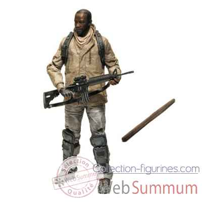 The walking dead: figurine - morgan jones -MCF14621
