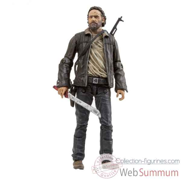 The walking dead: figurine rick grimes -MCF14624