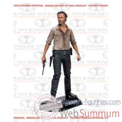 The walking dead: figurine rick grimes -MCF14671