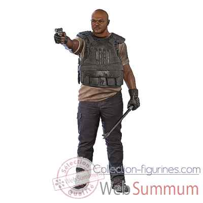 The walking dead: figurine t-dog -MCF14633