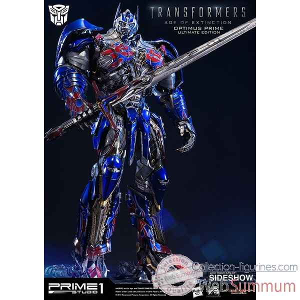 Transformers age of extinction: statue optimus prime polystone -SS902502
