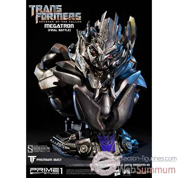 Transformers: buste megatron final battle version -SS9022511
