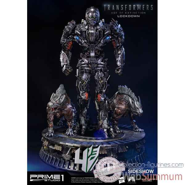 Transformers statue lockdown -SS902642