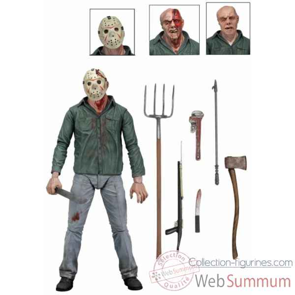 Vendredi 13 figurine jason -NECA39702