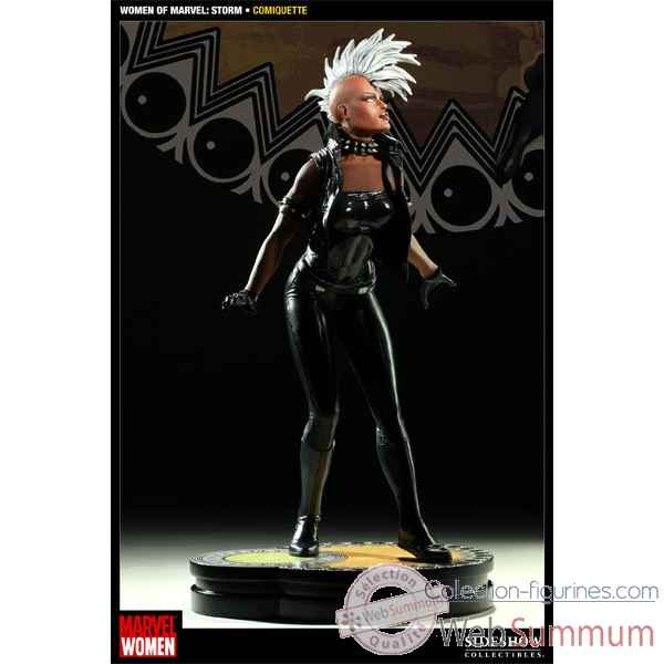 Women of marvel: storm polystone statue -SS200116