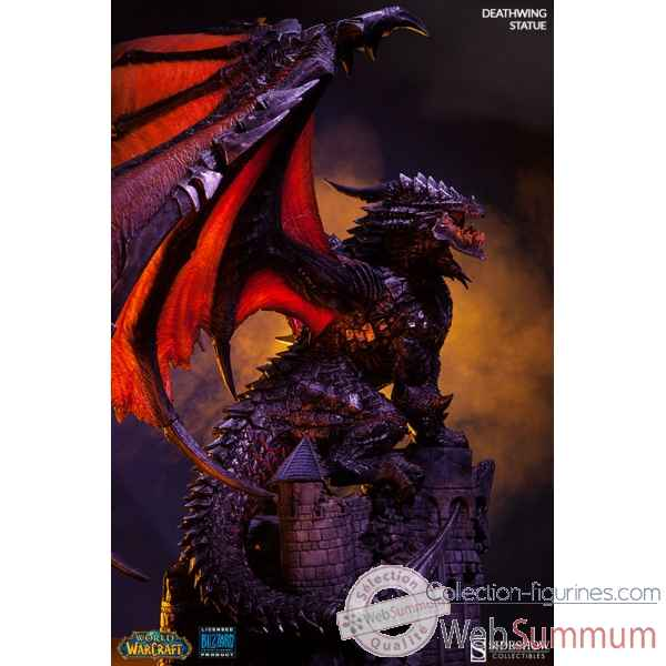 World of warcraft: statue deathwing -SS200207