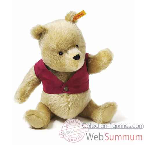 Video Peluche Steiff Winnie l'ourson mohair-354410
