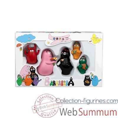Figurine coffret Barbapapa -60834