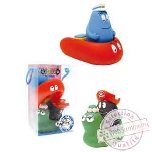 Barbapapa pack 4 jouets de bain pirate Plastoy -P80502