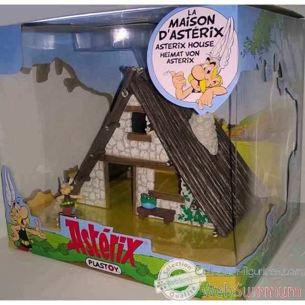 Coffret maison d\\\'asterix (+ 1 fig) Plastoy -60835