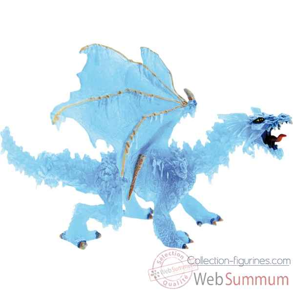 Collection les dragons figurine le dragon de glace Figurine Plastoy 60242