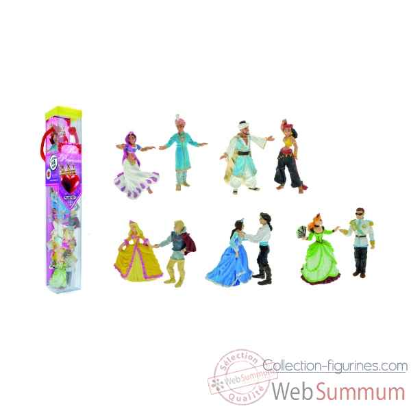 Collection les tubos tubo le bal des princesses 10 figurine Figurine Plastoy 70377