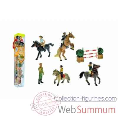 Collection les tubos tubo equitation Figurine Plastoy 70378