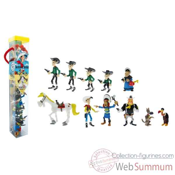 Collection les tubos tubo lucky luke 11 figurine Figurine Plastoy 70371
